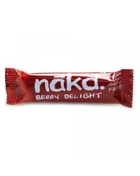 Batonėlis su avietėmis NAKD Berry delight, 35g