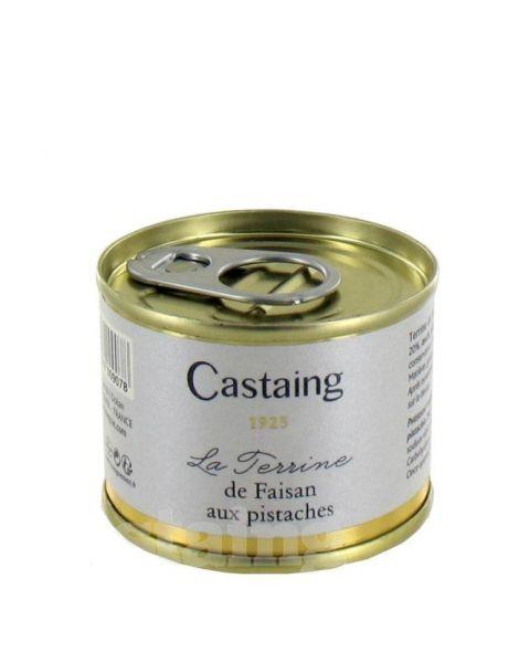 Fazanienos terinas su pistacijomis CASTAING, 67g