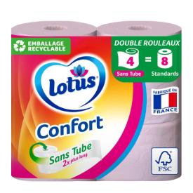 Tualetinis popierius LOTUS Confort, 4 vnt.