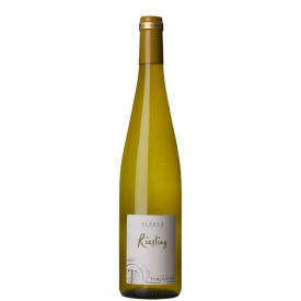 Baltasis sausas rūšinis vynas Cave De Turckheim Tradition Riesling pagamintas Elzaso regione, Prancūzijoje