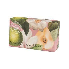 """Muilas ENGLISH SOAP """"Kew Gardens"""" su magnolijomis ir kriaušėmis, 240 g"""
