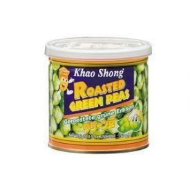 Skrudinti žalieji žirneliai KHAO SHONG, 140 g