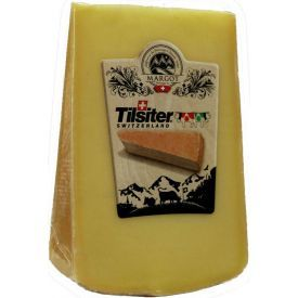 "Puskietis sūris ""TILSIT RED"", brandintas 5 mėn, 200g"