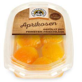 Abrikosai įdaryti šviežiu sūriu DIE KASEMACHER, 180g