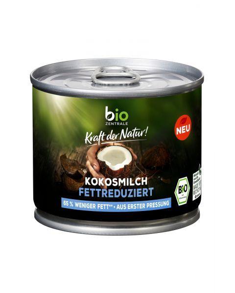 Ekologiškas kokosų pienas BIOZENTRALE, riebumas 6%, 250ml