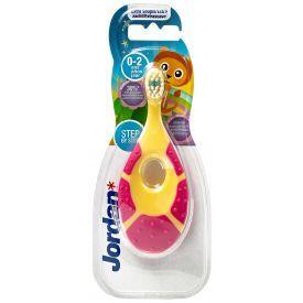 Dantų šepetėlis-kramtukas kūdikiams JORDAN (0-2 metai), 1 vnt.