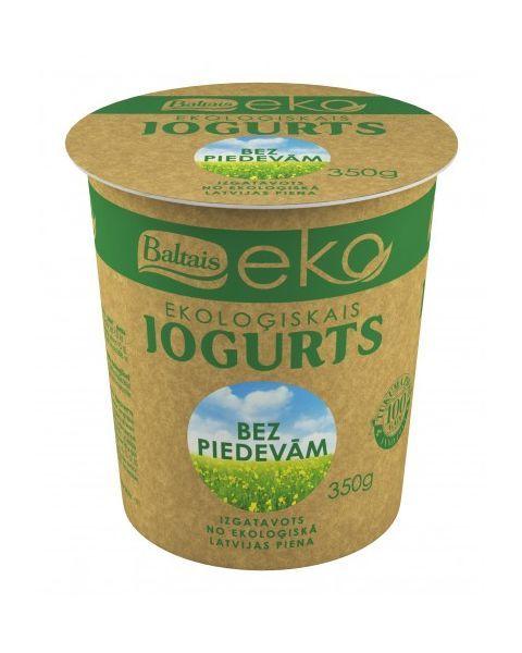 Ekologiškas jogurtas be priedų BALTAIS, 350g