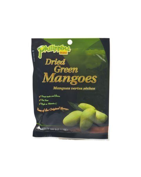 Džiovinti žalieji mangai PHILIPPINE BRAND, 100 g
