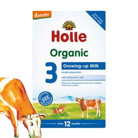 Ekologiškas pieno mišinys HOLLE kūdikiams nuo 12 mėn., 600 g
