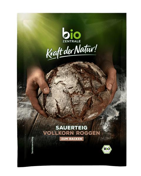 Ekologiškas sausas ruginis sourdough raugas BIOZENTRALE, 30 g