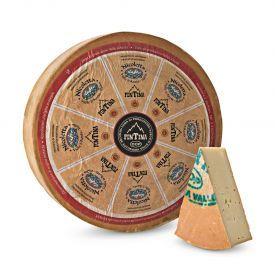 """Puskietis sūris """"FONTINA ALPEGGIO - NICOLETTA"""" DOP, brandinatas 90 dienų, 1 kg"""