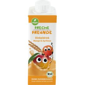 Ekologiškas spelta gėrimas FRECHE FREUNDE su mangais ir abrikosais, 250 ml