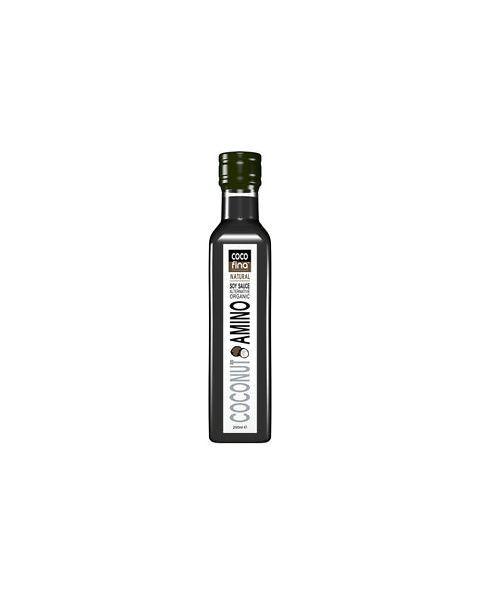 """Ekologiškas """"Coconut aminos"""" padažas COCOFINA, alternatyva sojų padažui, 250 ml"""