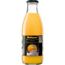 Ekologiškos apelsinų sultys DELIZUM ne iš koncentrato, 1L