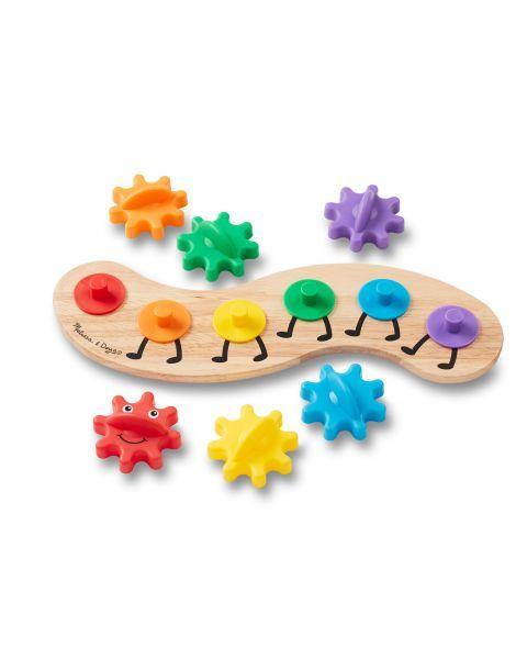 "Žaislas su dantračiais MELISSA & DOUG ""Caterpillar"", 1 vnt. 5"