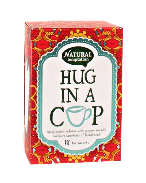 Ekologiška arbata NATURAL TEMPTATION Hug In A Cup, 18 maišelių