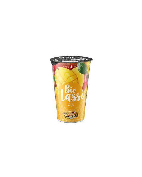 Ekologiškas jogurto gėrimas su mangais MOLKEREI, 3,5% rieb., 230g