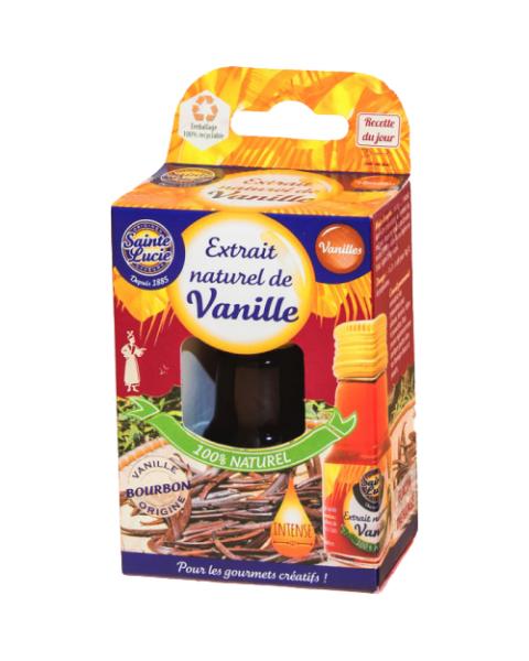 Natūralus vanilės ekstraktas SAINTE LUCIE, 20 ml