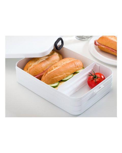 Didelė maisto dėžutė su skyreliais MEPAL Bento rožinė, 1 vnt. 2