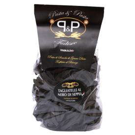 "Juodi makaronai Pasta&Pasta ""Tagliatelle nero di seppia"", 500 g"