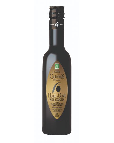 Ekologiškas ypač tyras alyvuogių aliejus CASTELAS Bio Classic AOP, 250 ml