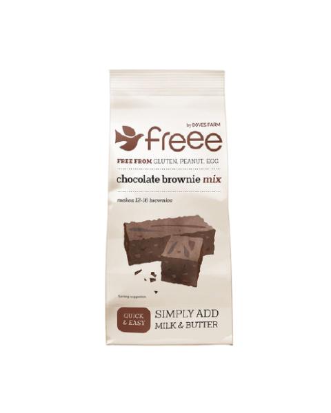 """Šokoladinio """"Brownie"""" pyrago mišinys DOVES FARM be gliuteno, 350 g"""