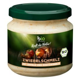 Ekologiška obuolių ir svogūnų užtepėlė BIOZENTRALE, 150 g