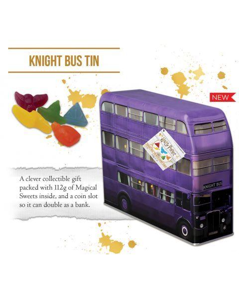 Saldainiai HARRY POTTER metalinėje taupyklėje-autobuse, 112 g 2