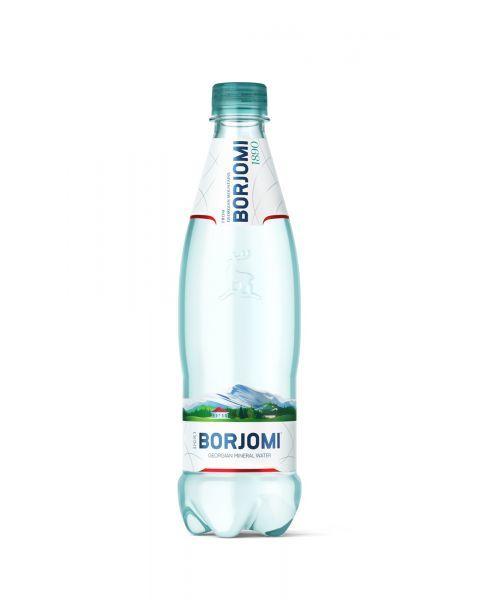 BORJOMI gazuotas natūralus mineralinis vanduo, 500ml
