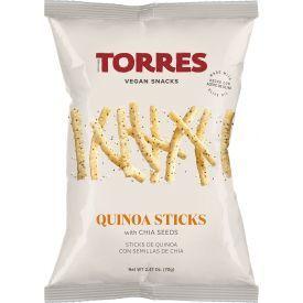 Bolivinės balandos (kynvos) traškučiai TORRES su ispaninio šalavijo sėklomis, 70g