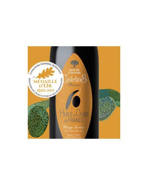 Ypač tyras alyvuogių aliejus CASTELAS Mas De L'Olivier, 500 ml 2