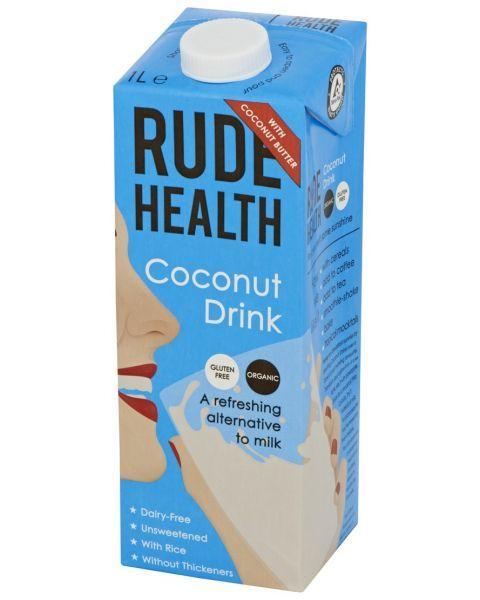 Ekologiškas kokosų gėrimas RUDE HEALTH, 1 l