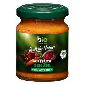 Ekologiška daržovių užtepėlė BIOZENTRALE, 125 g
