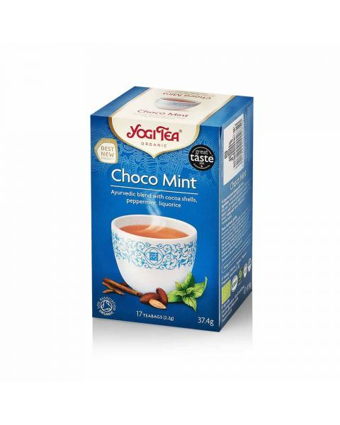 Ekologiška arbata YOGI TEA CHOCO MINT 37,4g