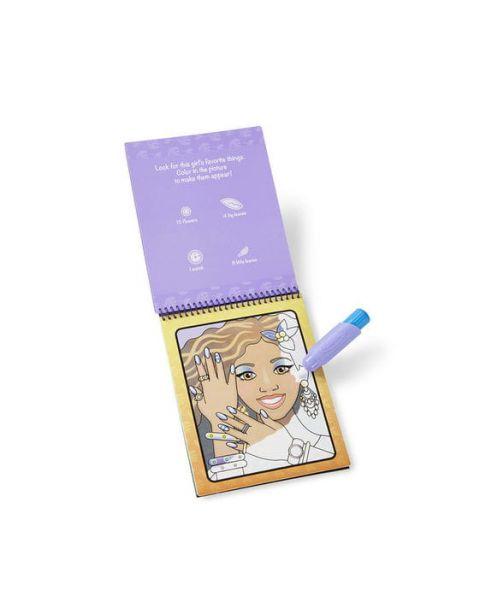 "Spalvinimo vandeniu rinkinys MELISSA & DOUG ""Makeup and Manicure"", 1 vnt. 2"