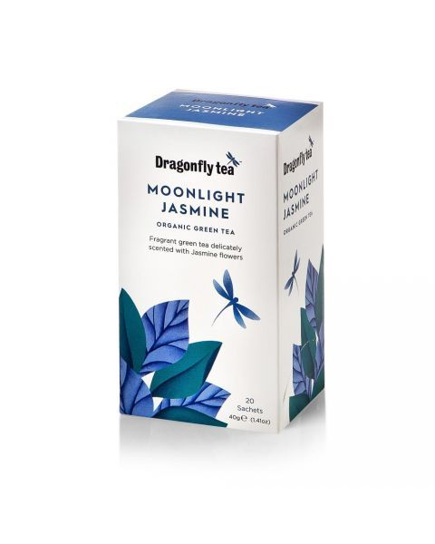 Ekologiška arbata DRAGONFLY TEAS MOONLIGHT JASMINE  40g