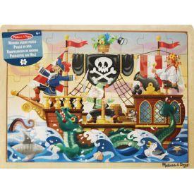 "Dėlionė (48 detalės) MELISSA & DOUG ""Pirate Adventure"", 1 vnt."