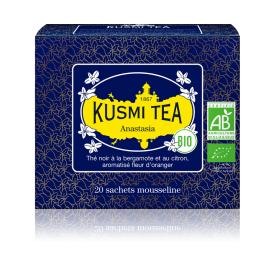 Ekologiška Juodoji arbata ANASTASIA KUSMI TEA, 20*2,2g