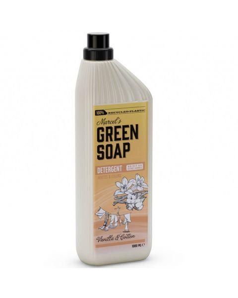 Skalbimo skystis MARCELS GREEN SOAP su vanile ir medvilne, 1 l