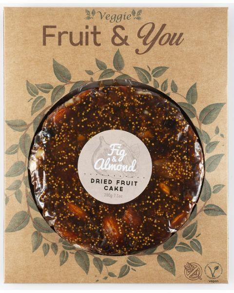 Figų ir migdolų pyragas FRUIT & YOU, 200 g