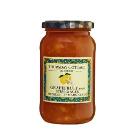 Greipfrutų marmeladas su kamieniniu imbieru THURSDAY COTTAGE (vidutinio dydžio gabalėliai), 454 g