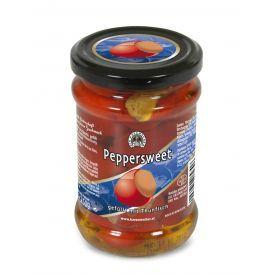 Saldžiosios paprikos įdarytos tunu DIE KASEMACHER, stikle, 250 g