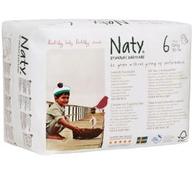 Sauskelnės-kelnaitės EKO by NATY, 6 Extra Large 16+ kg, 18 vnt.