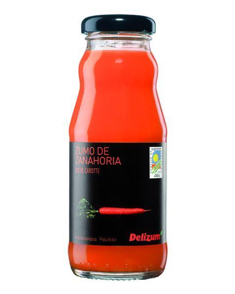 Ekologiškos morkų sultys DELIZUM, 200ml