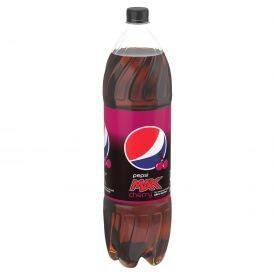 Gazuotas gėrimas PEPSI MAX, vyšnių skonis, be cukraus, 1,5L