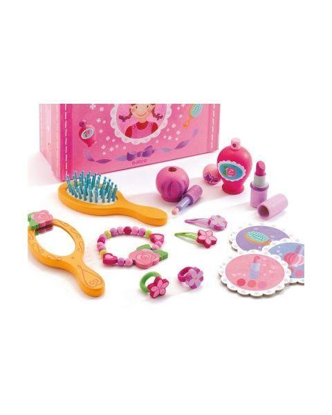Prabangus grožio lagaminėlis su priedais DJECO vaikams nuo 4 metų (DJ06552) 3