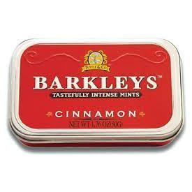 Barkleys cinamono skonio pastilės 50g