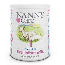 Pradinio maitinimo ožkos pieno mišinys NANNY kūdikiams nuo 1 iki 6 mėn., 400 g