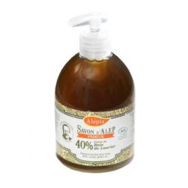 Ekologiškas skystas muilas su lauramedžio aliejumi (40%) ALEPIA Premium, 500 ml