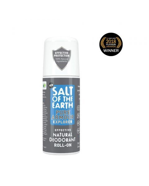 Rutulinis dezodorantas SALT OF THE EARTH Pure Armour, 75 ml